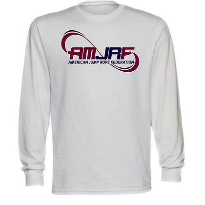 AMJRF Navy and Maroon Logo Unisex Long Sleeve T-Shirt