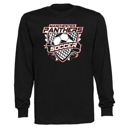 Manchester Panthers Soccer Logo #64 Unisex Long Sleeve T-Shirt