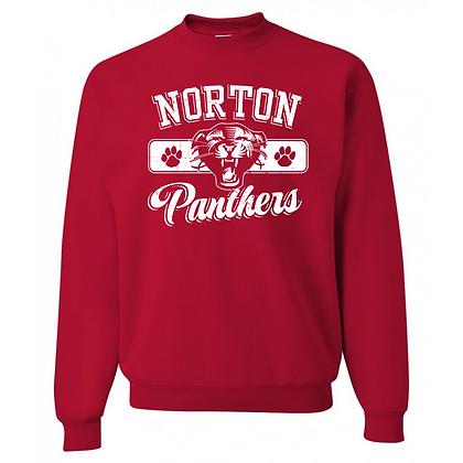 Norton Panthers General Logo #3 Unisex Sweatshirt
