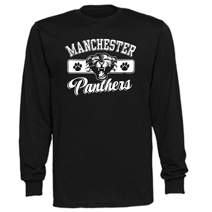 Manchester Panthers General Logo #9 Unisex Long Sleeve T-Shirt