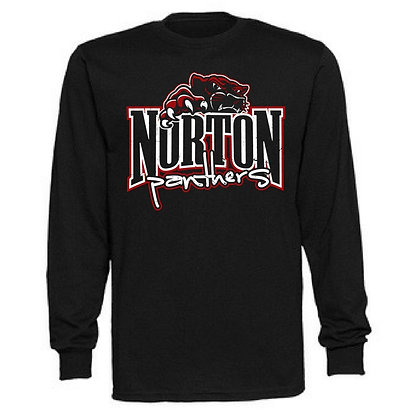 Norton Panthers General Logo #15 Unisex Long Sleeve T-Shirt