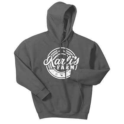 Karli's Farm Round Design Hoodie