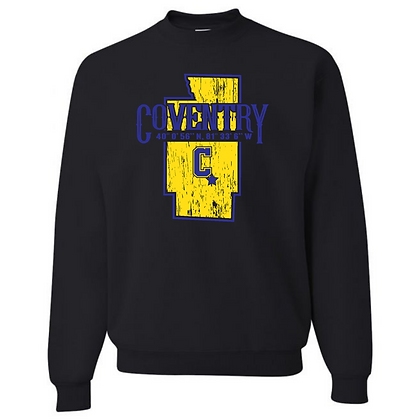 Coventry Comets General Logo #5 Unisex Crew Neck Sweater