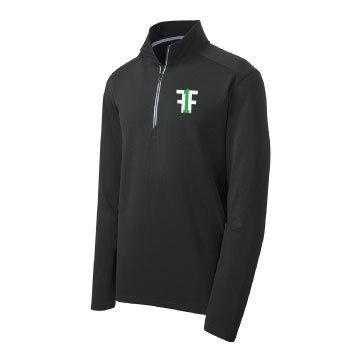 Fitness Forty One Embroidered Quarter Zip
