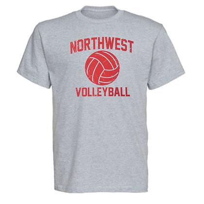 Northwest Indians Volleyball Logo #73 Unisex T-Shirt