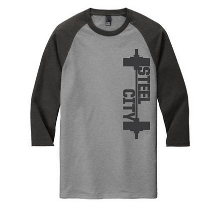 Steel City Design #6 Unisex Baseball Tee