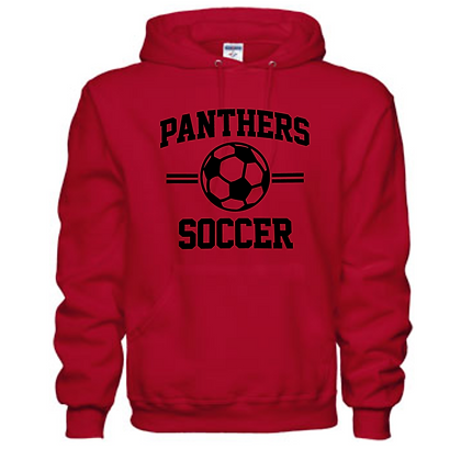 Manchester Panthers Soccer Logo #63 Unisex Hoodie