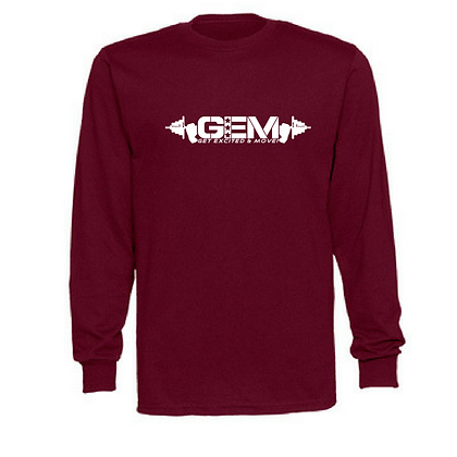 G.E.M. Unisex Jerzees Long Sleeve Shirt - Variety