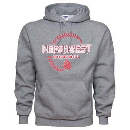 Northwest Indians Baseball Logo #27 Unisex Hoodie