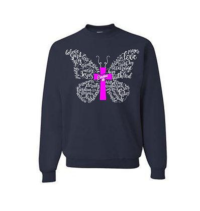 Emma Butterfly Crewneck