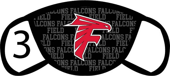 Field Falcons Face Mask