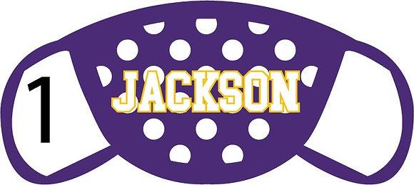 Jackson Polka Dots Face Mask