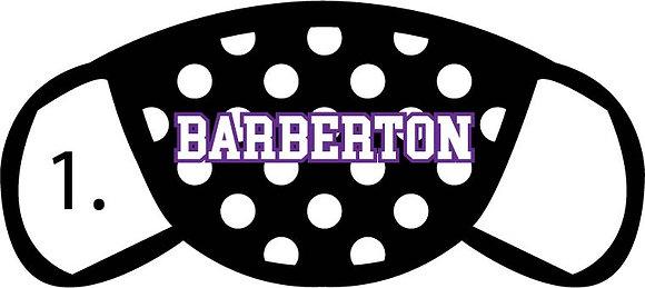 Barberton Polka Face Masks