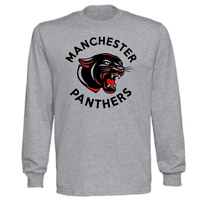 Manchester Panthers General Logo #6 Unisex Long Sleeve T-Shirt