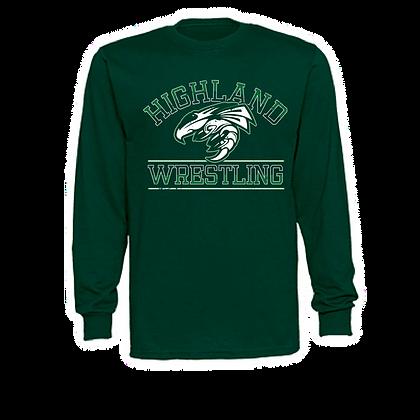 Highland Wrestling Unisex Long Sleeve Shirt - Hornet