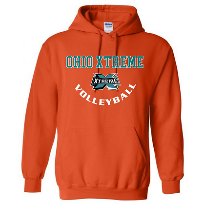 Ohio Xtreme Volleyball Logo A Hoodie