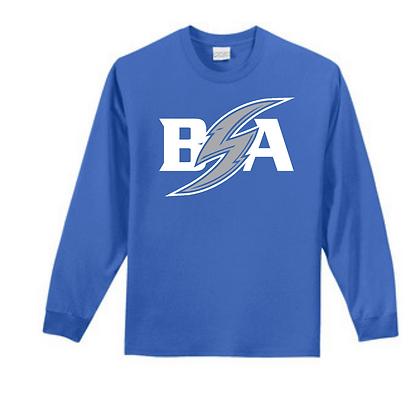 Blue Storm Athletics (White & Gray) Unisex Long Sleeve Tee