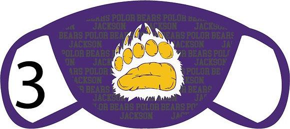 Jackson Paw Face Mask