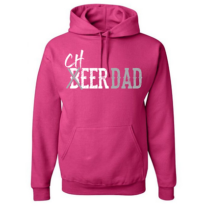 Cheer Hair Don't Care Unisex Hoodie