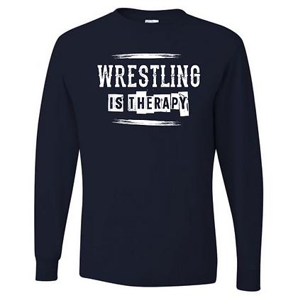 Wrestling Logo #41 Unisex Long Sleeve T-Shirt