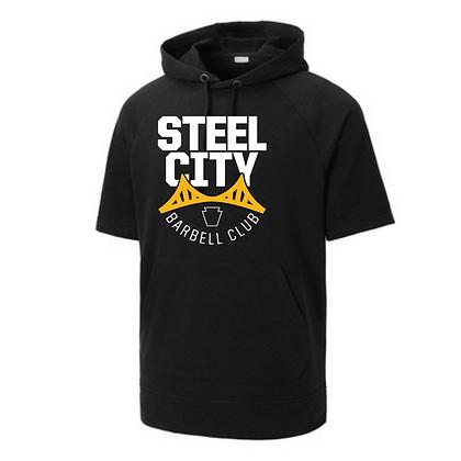 Steel City Design #3 Short Sleeves Unisex Hoodie