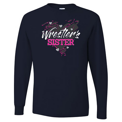 Wrestling Logo #11 Unisex Long Sleeve T-Shirt