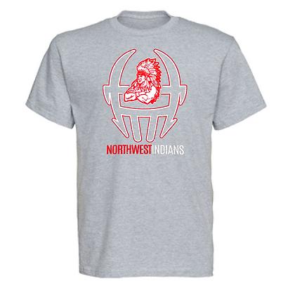 Northwest Indians Football Logo #49 Unisex T-Shirt