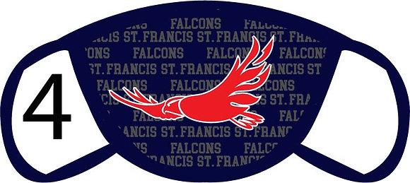 St. Francis de Sales Falcons Face Mask