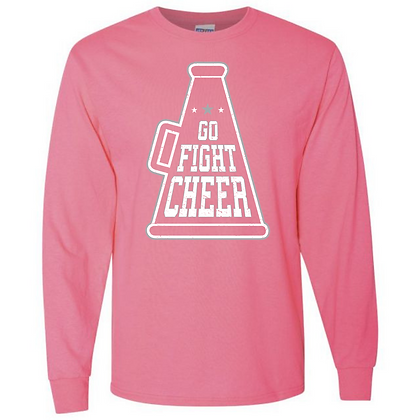Go Fight Cheer Unisex Long Sleeve T-Shirt