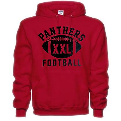 Norton Panthers Football Logo #49 Unisex Hoodie