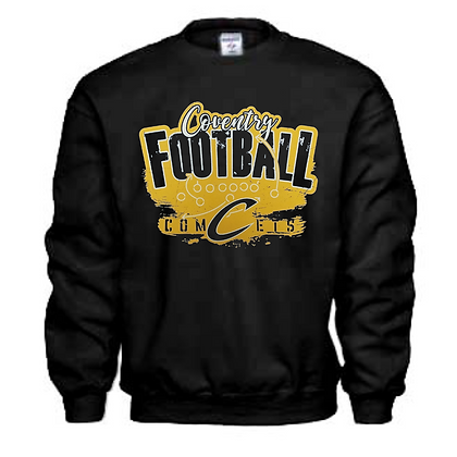 Coventry Comets Football Logo #45 Unisex Crew Neck Sweater