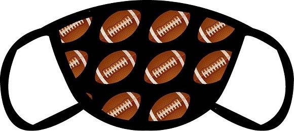 Football Pattern Face Mask