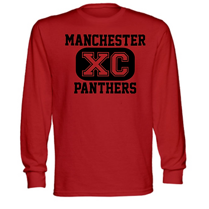 Manchester Panthers Cross Country Logo #51 Unisex Long Sleeve T-Shirt