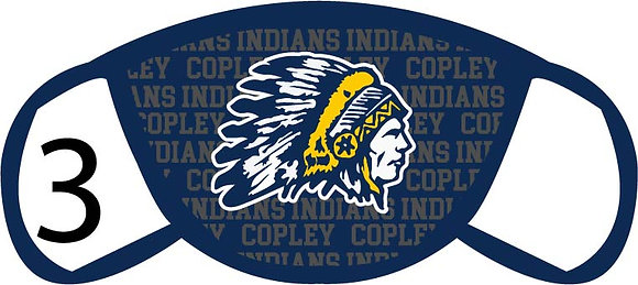 Copley Indians Face Mask