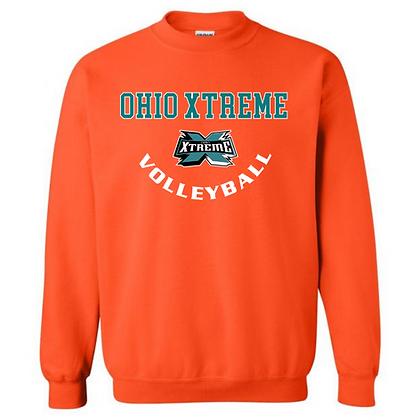 Ohio Xtreme Volleyball Logo A Crew Neck Sweatshirt