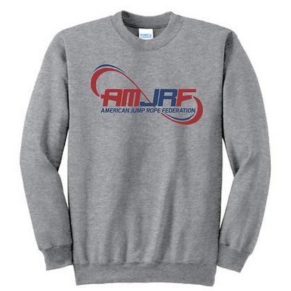 AMJRF Navy and Maroon Unisex Crew Sweatshirt