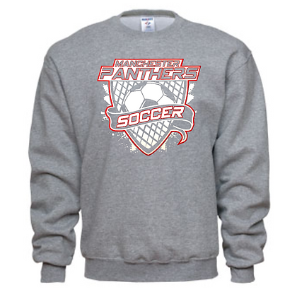 Manchester Panthers Soccer Logo #64 Unisex Crew Neck Sweater
