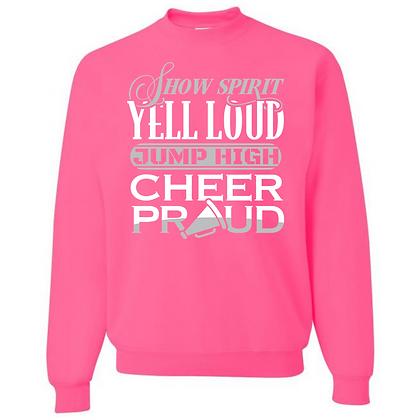 Cheer Proud Unisex Crew Neck Sweater