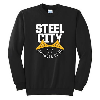 Steel City Design #3 Unisex Cotton blend Crewneck