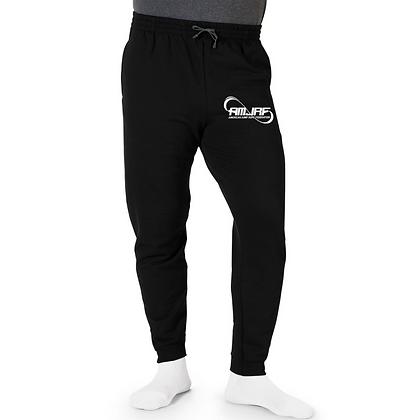 AMJRF Unisex Elastic Bottom Tapered Sweatpants