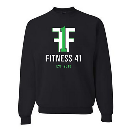 Fitness Forty One Unisex Cotton blend Crewneck