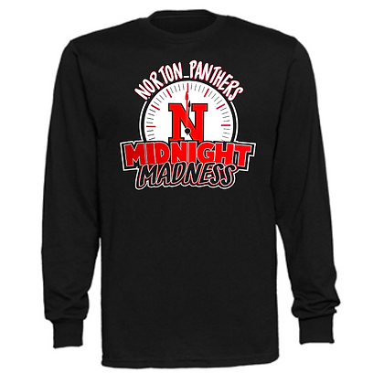 Norton Panthers General Logo #22 Unisex Long Sleeve T-Shirt