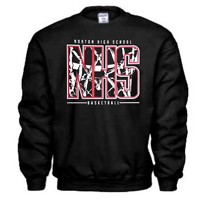 Norton Panthers Basketball Logo #39 Unisex Sweatshirt
