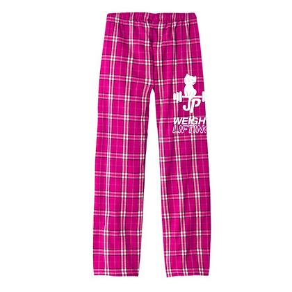 JP Weightlifting Ladies Flannel Pants