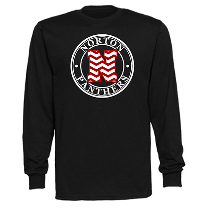 Norton Panthers General Logo #13 Unisex Long Sleeve T-Shirt