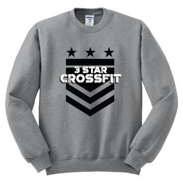 3 Star Crossfit Arrow Unisex Cotton blend Crew neck