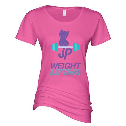 Glitter JP Weightlifting Ladies Scoop Neck Shirt