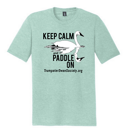 TTSS Keep Calm and Paddle On Unisex Triblend