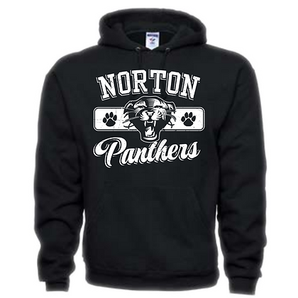 Norton Panthers General Logo #3 Unisex Hoodie