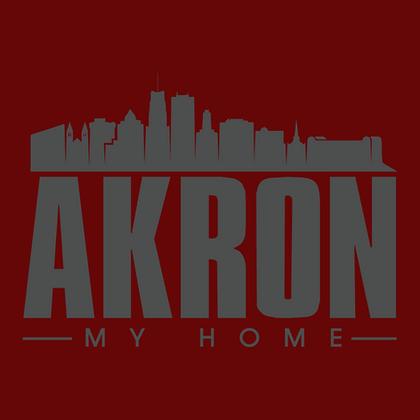 Akron Grey Skyline